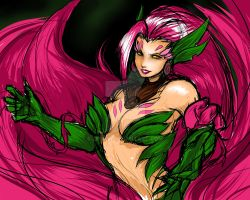 Zyra -  Closer to the Rose Closer to the Thorns by Zuske