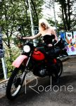 trish - my hot bike by rodone