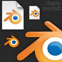 Blender Icon Pack v2 by muckSponge