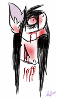 Jeff the Killer, Pony Style by Shadefang127