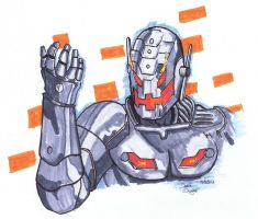 Ultron - Daily Sketch Group by DerekDwyer