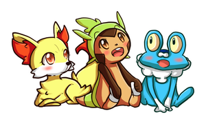 Pokemon 6th Gen Starter by Zel-Duh