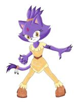 Creature of the Forest: Blaze the Cat by GothNebula