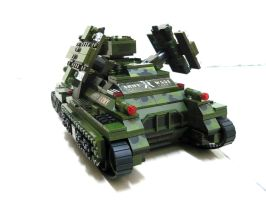 Lego Mirage Tank 'Mix' 5 by SOS101