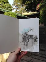 China Sketch I by erez-nusem