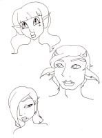 uncoloured adopts by child-of-aros