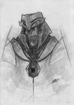 Megatron sketch by Ky-Alexa