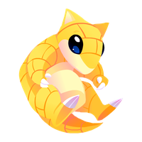 Sandshrew #027 by Kuitsuku