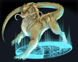 Pet Of The Great Goddess Gaea by Rodentruler