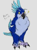 Night Elf BIRB by PewterKat