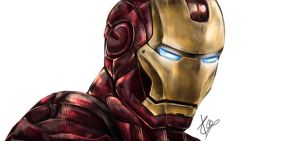 Iron Man by Esthiell