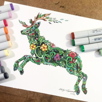 Plant Stag by Lucky978