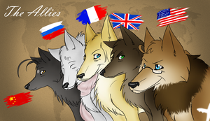 - The Allies - by Whitefang45