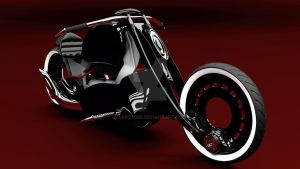 Mag Lev Turbine Bike Concept by SARGY001