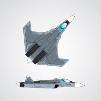 Sukhoi S-53 fighter concept by ACZCipher