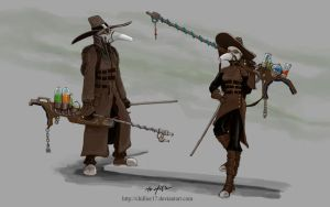 Plague Bringers by chillier17