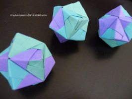 Origami Stellated Octahedron (Sonobe) by OrigamiPieces