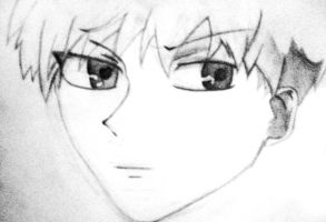Kyo Sohma- Old sketch by Medicated-Kitty