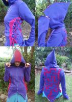 Electronic Circuit Hoodie by Faeriegem