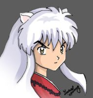 Inuyasha Colored by july31st