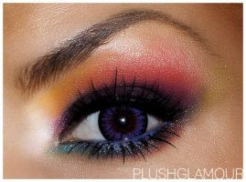 Rainbow look by NatashaSmithPhoto