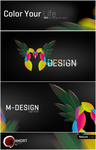 M-DESIGN  Logo by amort01