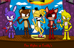 Five Nights at Freddy's and Tails Doll by XDTailsDollXD