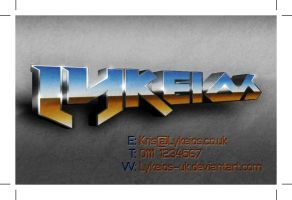 TAD104 - Business Card 04 by Lykeios-UK