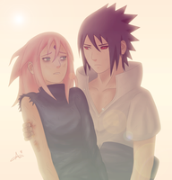 SasuSaku - Chapter 685 by Axichan