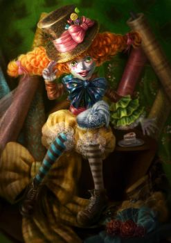 Mad Hatter Me by yangtianli