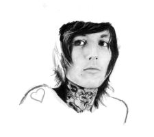 Oli Sykes -not finished- by EvilEvolution