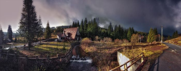 cottage by oblious
