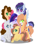My Next Gen. Mane 6 (with video) by NikkiKittyx