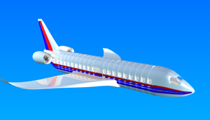 my first airplane model by XTorbenX