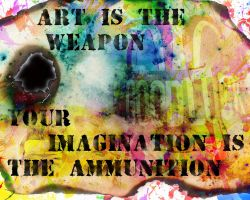 Art is the Weapon by smusachia41