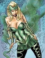Amora the Enchantress by ShawnVanBriesen