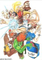 Street Fighter by Wild-Inx