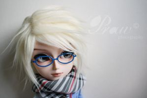 With new eyeglasses 02 by mydollshouse