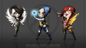 Sirens of Borderlands 2 by Red-Vanilla19