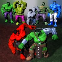 Ultimate Marvel vs Capcom 3 Hulk by ArmachamCorp