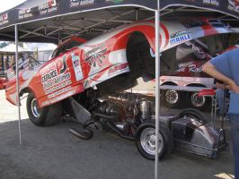Diesel Powered Funny Car by Jetster1