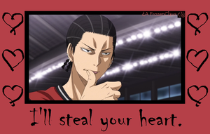 Kuroko no Valentine: Haizaki Out To Steal Yo Girl by FrozenClaws