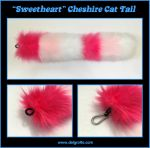 Sweetheart Cheshire Cat Tail by delgrotto