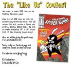 Win a The Amazing-Spiderbunny print by Snizitch