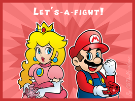 .:Smash couple:. by CloTheMarioLover