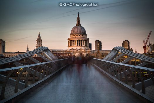 Shadows of St Pauls by GMCPhotographics