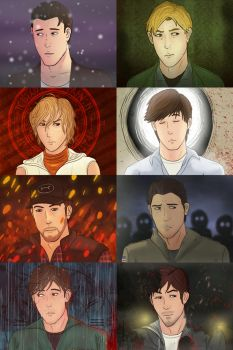 Silent Hill Protagonists by p-h-i-l-o-s