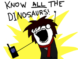 Know ALL THE Dinosaurs by onwards-and-upwards