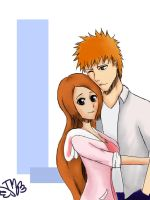 IchiHime - Yours Forever by kazumimomoi