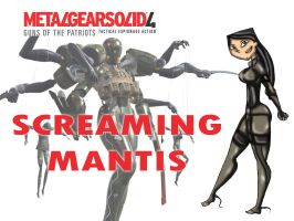 SCREAMING MANTIS Heather by drago-flame